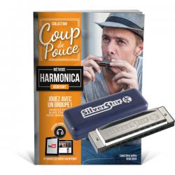 Pack méthode harmonica + harmonica hohner