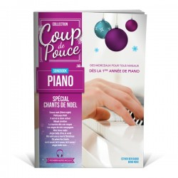 Coup de pouce Songbook piano chants de Noël - méthode piano