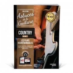 Astuces de la guitare country - Méthode de guitare Contry