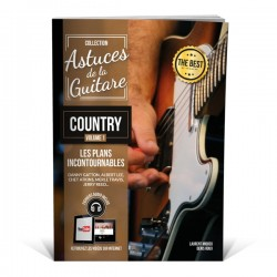 Astuces de la guitare country - Méthode de guitare Contry