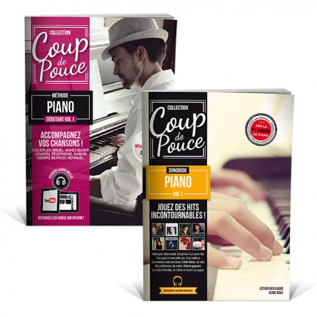 Pack débutant piano ! apprendre des morceaux de pianos connus