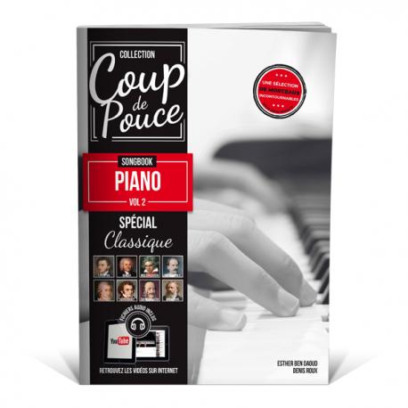 Coup de pouce Songbook piano vol.2 Spécial Classique
