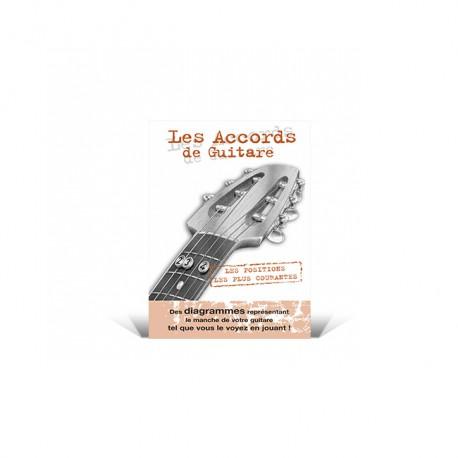 Mini dictionnaire d'accords guitare