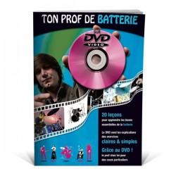 Ton Prof de batterie - Méthode de batterie sur DVD