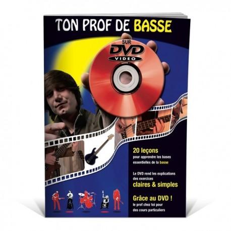 Ton Prof de basse sur DVD, la basse en 20 leçons