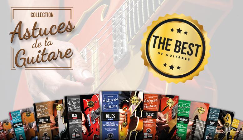 astuces de la guitare blues, rock, jazz, country, bossa nova...